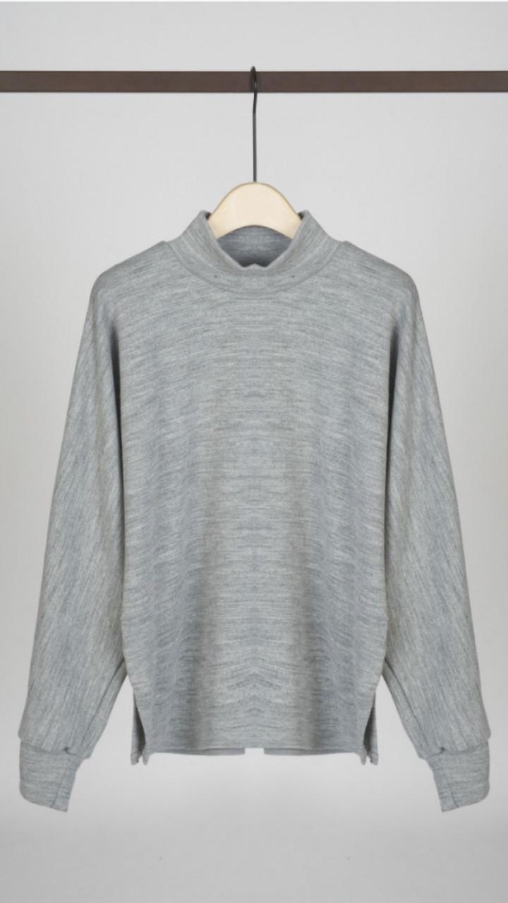 Sweater de Malha - Cinza