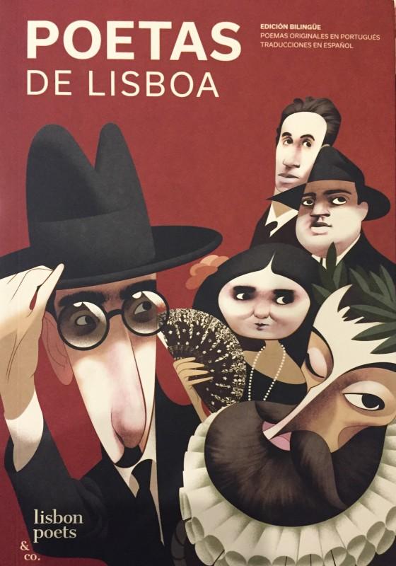 Livro Poetas De Lisboa- ESPANHOL