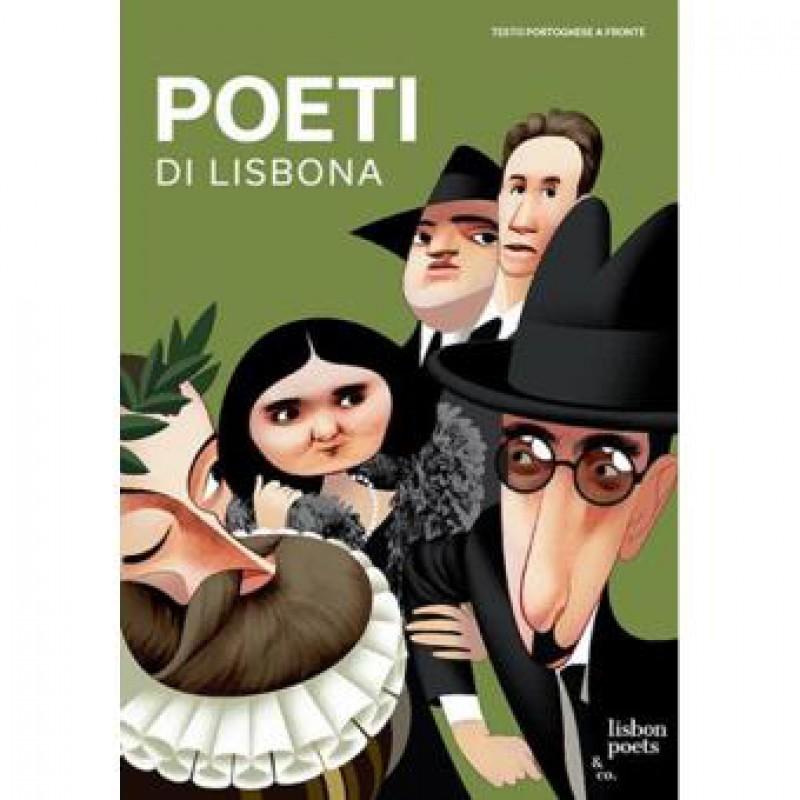 Livro Poetas De Lisboa- ITALIANO