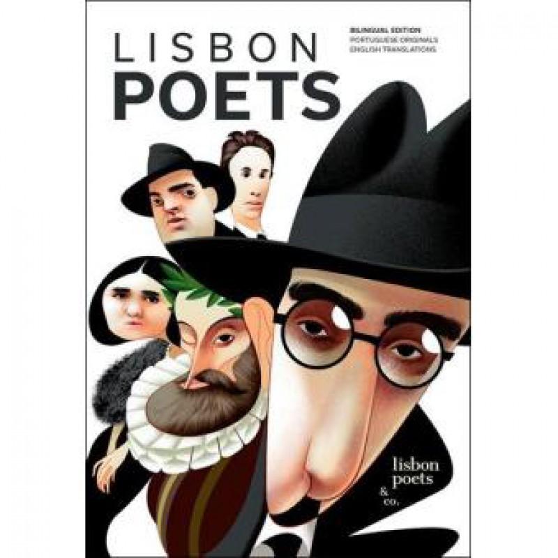 Livro Poetas De Lisboa- INGLÊS