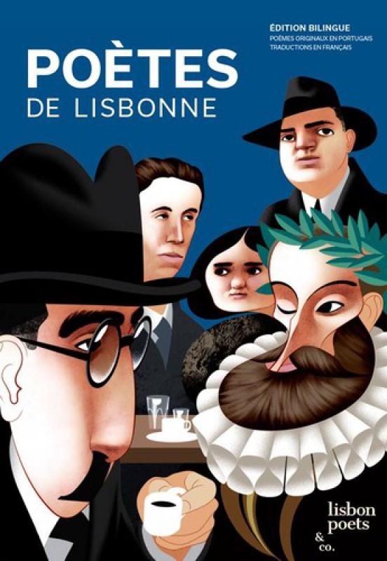 Livro Poetas De Lisboa- FRANCÊS
