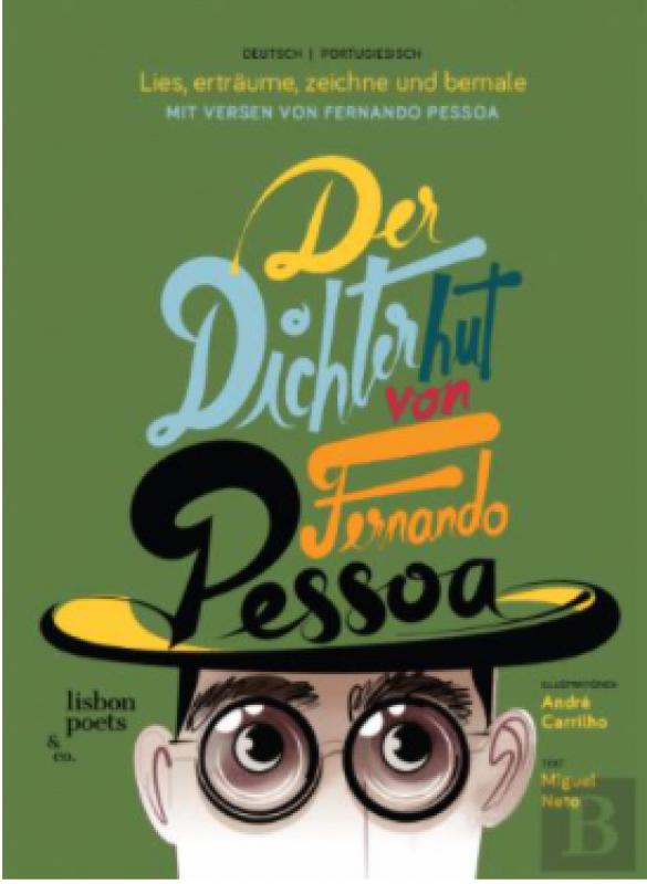 Livro O Chapéu De Fernando Pessoa- ALEMÃO