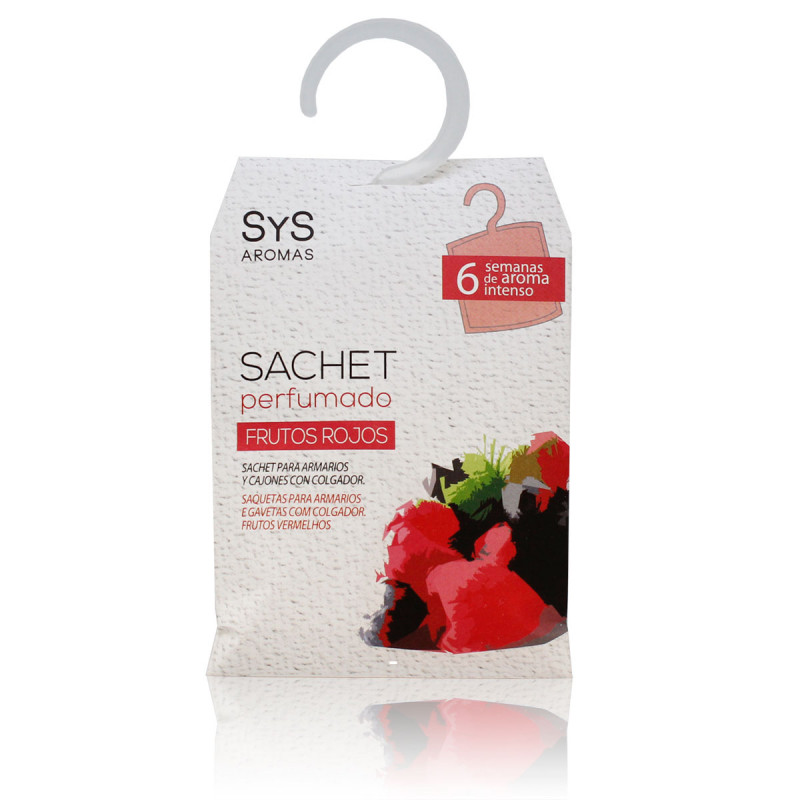 Sachet Perfumado Frutos Vermelhos