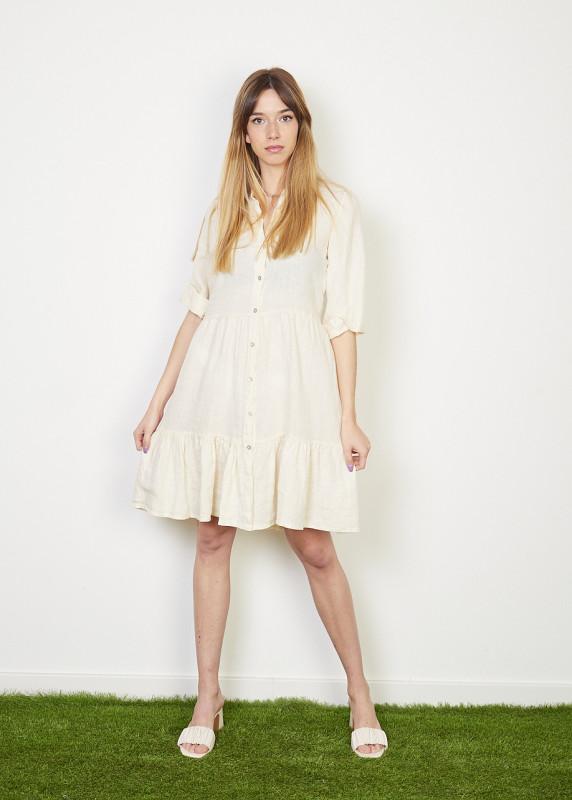 Vestido de Linho- curto