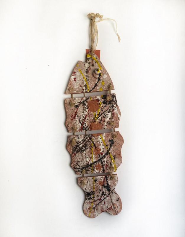 Peixe em Cerâmica 65cm